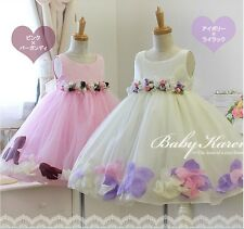 High quality flower girl dresses kids wedding party dress 2-8y baby girl dresses