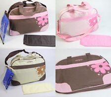 Baby Diaper Bag Nappy Tote Messenger Changing Bag 3 Color you pick