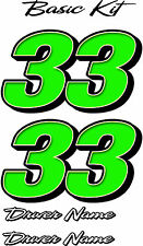 Anderson Fireball - Basic Number Kit - RACE CAR, TRUCK, IMCA, OUTLAW, SPRINT