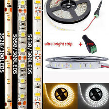 12V 3528 5050 5630 3014 SMD 300/600 LED Waterproof Flexible LED Strip Car Light