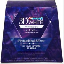 Crest 3D White Luxe Professional Teeth Whitening Packs