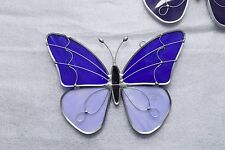 Made-in-the-USA Butterfly Sun Catcher Crafted by Renaissance Glass