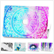 """Hard Glittering Protective Case+Keyboard Guard For Macbook 11""""12""""13""""15"""" Air Pro"""