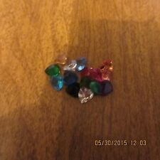 HEART FLOATING CHARMS FOR YOUR LOCKET BIRTHSTONE COLORS AND MORE