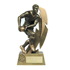 Rugby League Union Trophies School College Sports Trophy Award - ENGRAVED FREE