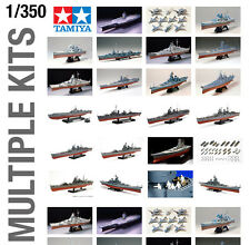TAMIYA 1/350th BIG SHIP PLASTIC MODEL KIT BUILD YOURSELF - ALL TYPES AVAILABLE!