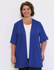 New Dale and Waters Plus Size Clothing 16-36 Sahara E2E Cardi Green Royal