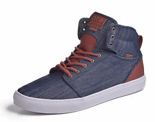 Vans Men's Alomar Denim Hi Top Skateboard Shoes