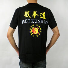 New  Bruce Lee Jeet kune do martial arts Kung Fu training Show T-shirt black