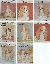 Cavalier ~ 20 Needlepoint Dog Canvas ~ Designed & Hand Painted Lindy Tilp
