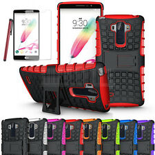 Heavy Duty Rugged Hybrid Stand Hard Shockproof Case Cover For LG G Stylo LS770