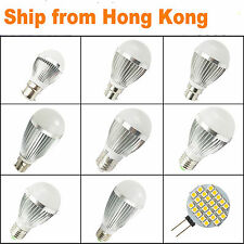 4 6 X B22/E27 Dimmable Cool white led light bulb 240V led globes Warm white Golf