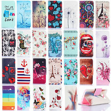 For iPhone 4/5S/ 6 Plus Fashion Vintage Card Holder Wallet Flip Stand Case Cover