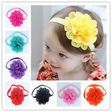 1PCS Baby Toddler Girls Kids Flower Tiara Hair Band Flower Headband Headwear