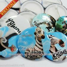 Khumba Tin Buttons pins badges,30MM,Round Brooch Badge Kids Gift,Clothes Decorat