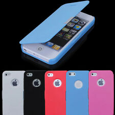 Case Cover Magnetic Leather Flip For Apple iPhone 4S 5S Thin Pouch Protect Skin