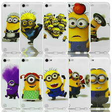 DESPICABLE ME 2 MINIONS TPU GEL CASE COVER FOR IPOD TOUCH 4 GEN TOUCH 5 GEN