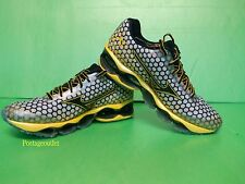 Mizuno Wave Prophecy 3 Running Shoes (M) Grey/Yellow J1GC140009 NEW 2014