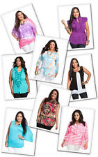 Lot New Women Plus Top Shirt Blouse Tunic Multi Color Floral Summer XL 2XL 3XL