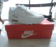 Hot  Nike air max 90 running leather women shoes white sales