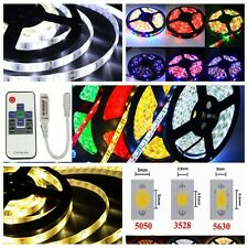 5M/16.4FT 3528 5050 5630SMD 300LED Strip Light Flexible/Power Supply/Controller
