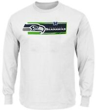 Seattle Seahawks NFL Mens Long Sleeve Critical Victory Shirt Big & Tall Sizes