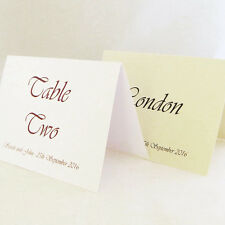 Personalised Wedding Event Table Number / Table Name Cards