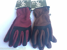 Timberland Mid Weight Commuter Fleece Men Touch Screen Gloves GL31244 Sz M L NWT
