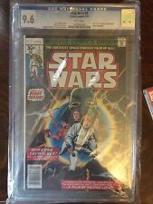 1977 Star Wars #1 Issue Comic 7/77 RARE CGC 9.6