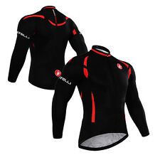 2015 New Casual Men Road Bike Team Cycling Long Sleeve Top Jersey Bicycle Jacket