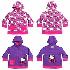 Western Chief Girls' Rain Coat------Purple and Pink Color, Size 2T-6