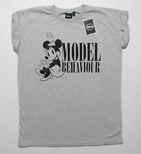 Disney MINNIE MOUSE Model Behaviour  Ladies Top T shirt  Primark UK 6,8,10,12