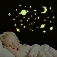 Stickers muraux Décoration Glow In The Dark Star Sticker Decal chambre d'enfants
