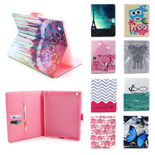 Folding Card Holder For Apple iPad 2 3 4 5 6 Air Mini Stand Leather Case Cover