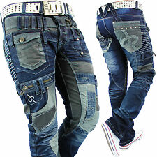 Japrag Herren Jeans Star Hose Freizeithose Mens Pants Nieten Party TOP Mod.