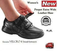 NEW PROPET EXTRA WIDE WOMENS WALKING LEATHER OUTDOOR SHOES DIABETIC ORTHOPEDIC