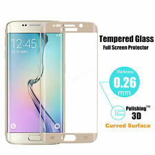 Full Covered Corning Tempered Glass Screen Protector For Samsung Galaxy S6 Edge