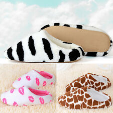 New Men Women Soft Warm Indoor Slippers Sandal House Home Anti-slip Shoes