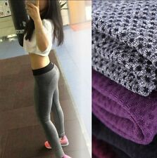 Hot Women Capri Yoga Trouser Running Elastic Sport Pants Fitness Casual Leggings