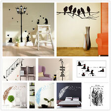 Funny DIY Removable Room Vinyl Decal Wall Art Sticker Home Decoration 6 Designs