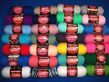 RED HEART SUPER SAVER YARN 7 & 8 OZ SKEINS EACH ARCYLIC YARN Multi Colors