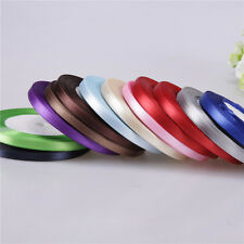 "Nice Multicolor Beautiful Satin Ribbon Craft 3/8"" 5/8"" 25 Yards Hot-Selling"