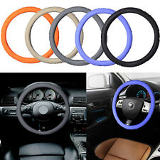 1 Pcs Set Skidproof Silicone Soft Auto Car Steering Wheel Cover 37.5cm M Size