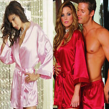 Ladies Sexy Lingerie Large Size Bathrobe Sleepwear Comfortable Nightwear Smooth