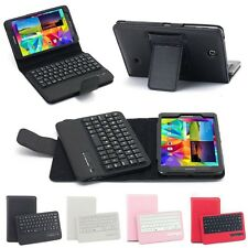 Bluetooth Keyboard Leather Case Stand Case Cover For Samsung Galaxy Tab 4 T230