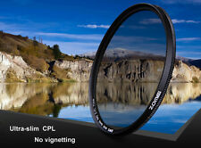 ZOMEI 52/55/58/62/67/77/82mm Ultra Slim CPL Circular Polarizing Polarizer Filter