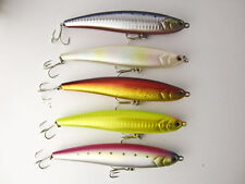1x Megnetic System Saltwater Topwater Stick Bait Floating Pencil Lure 120mm/20g