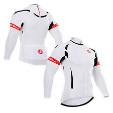 New Men's Bicycle Team Long Sleeve Coat Racing Gear Top Cycling Jersey Jacket