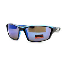 Xloop Mens Sunglasses Sports Fashion Rectangular Wrap Around UV 400