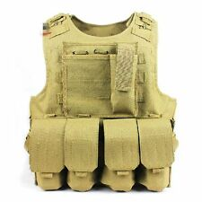 Cool Outdoor Assault Tactical Vest Molle Camo Vest Chest Rig / Airsoft / Hunting